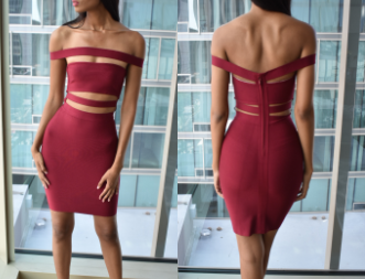 Cut Out Dress (Medium)