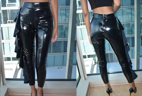 Black Leather Pants (Small)
