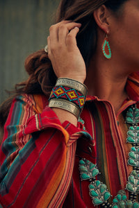 The Southwest: Beaded Cuff