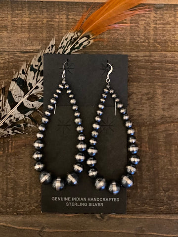 The Lauren Teardrop Earrings || Navajo Peals