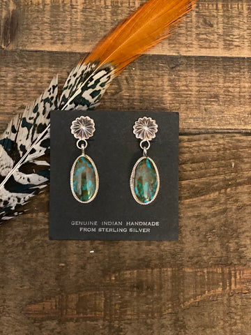 The Serena Dangles || Turquoise