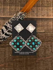 The Darcy Dangles || Turquoise