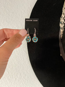 The Daisy Earrings || Turquoise