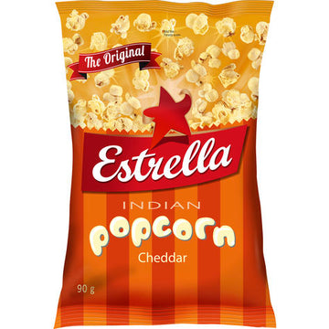 Indian Popcorn Cheddar 90g
