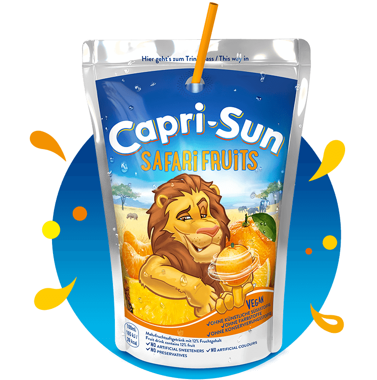 Capri Sun Safari Fruits 200ml