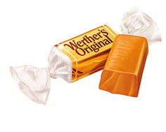 Werthers Chewy toffees (40g / 1 Skopa)