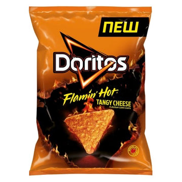 Doritos Flamin Hot Nacho Cheese 170g