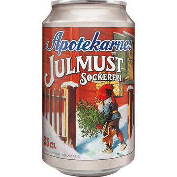 Apotekarnes Julmust Light 33CL