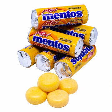 Mentos Orange Mini (52g/5st)