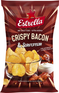 Crispy Bacon & Sourcream 175g