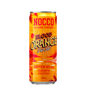 NOCCO Blood Orange del Sol 33cl