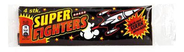 Super fighters stark lakrits 45 g