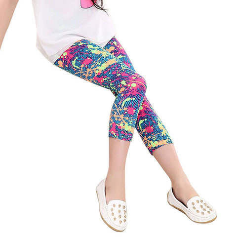 Girls Colourful Leggings