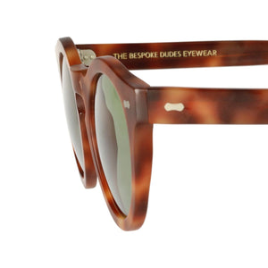 The Bespoke Dudes Eyewear Blazer Burnt Amber / Bottle Green