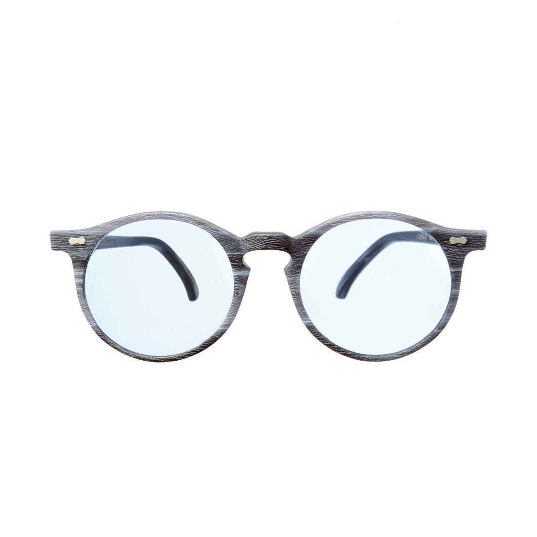 The Bespoke Dudes Eyewear Canvas Blue Brushed / Blue
