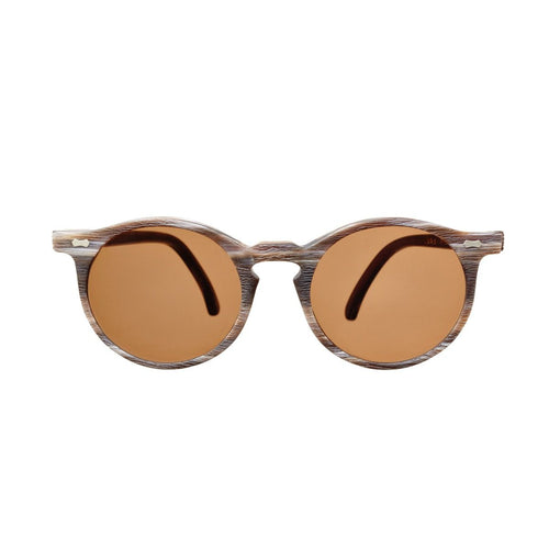 The Bespoke Dudes Eyewear Canvas Brown Brushed / Tobacco