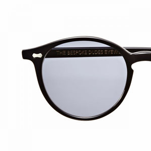 The Bespoke Dudes Eyewear Cran Black / Gradient Grey