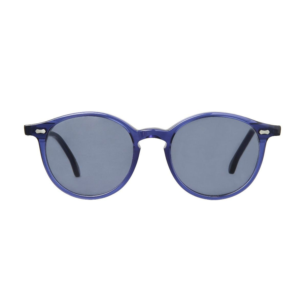 The Bespoke Dudes Eyewear Cran Blue / Gradient Grey