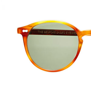 The Bespoke Dudes Eyewear Cran Classic Tortoise / Bottle Green