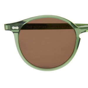The Bespoke Dudes Eyewear Cran Green / Tobacco