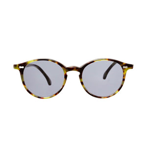 The Bespoke Dudes Eyewear Cran Green Tortoise / Gradient Grey
