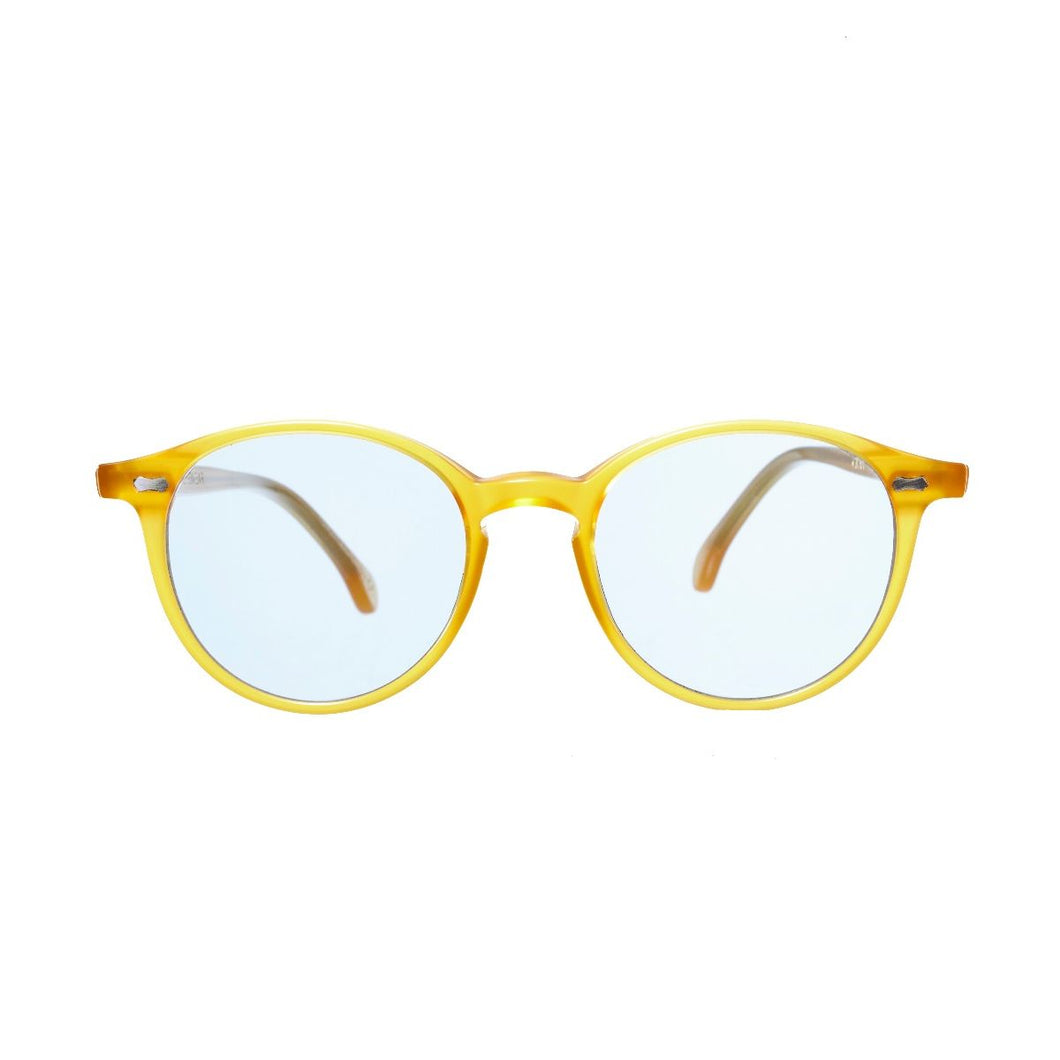 The Bespoke Dudes Eyewear Cran Honey /Blue