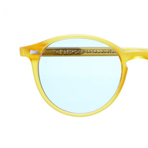 The Bespoke Dudes Eyewear Cran Honey / Blue