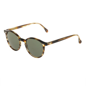 The Bespoke Dudes Eyewear Cran Light Havana / Bottle Green