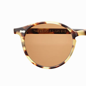 The Bespoke Dudes Eyewear Cran Matte Light Tortoise / Tobacco