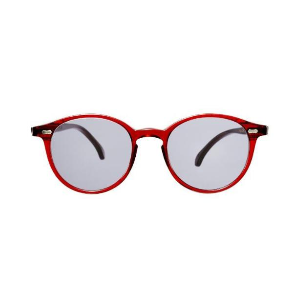 The Bespoke Dudes Eyewear Cran NGA Red / Gradient Grey