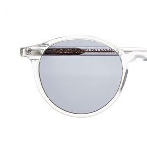 The Bespoke Dudes Eyewear Cran Transparent / Gradient Grey