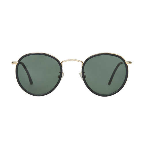 The Bespoke Dudes Eyewear Crossbreed Black // Bottle Green