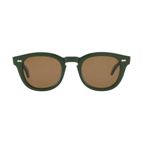 The Bespoke Dudes Eyewear Donegal British Green / Tobacco