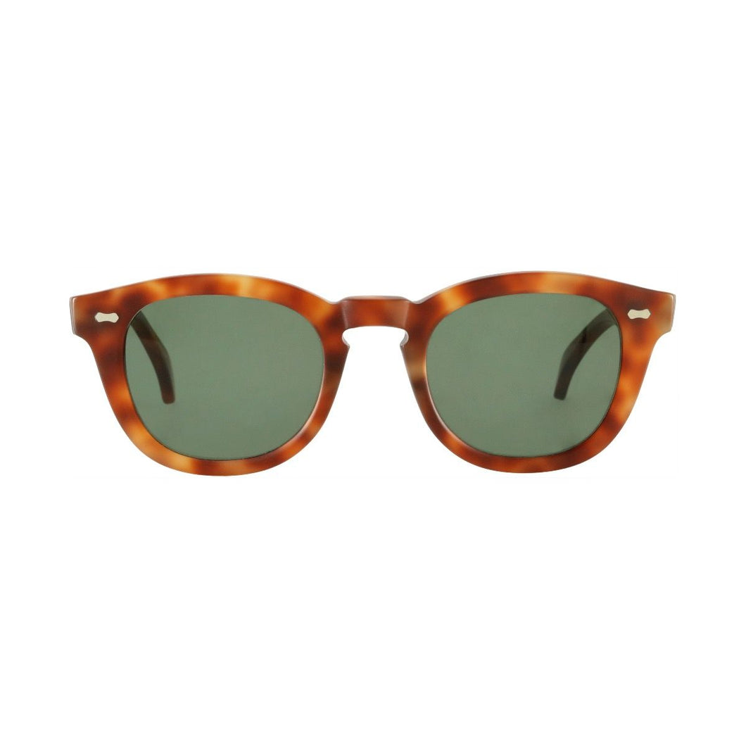 The Bespoke Dudes Eyewear Donegal Burnt Amber / Bottle Green
