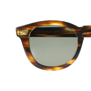 The Bespoke Dudes Eyewear Donegal Light Havana / Bottle Green