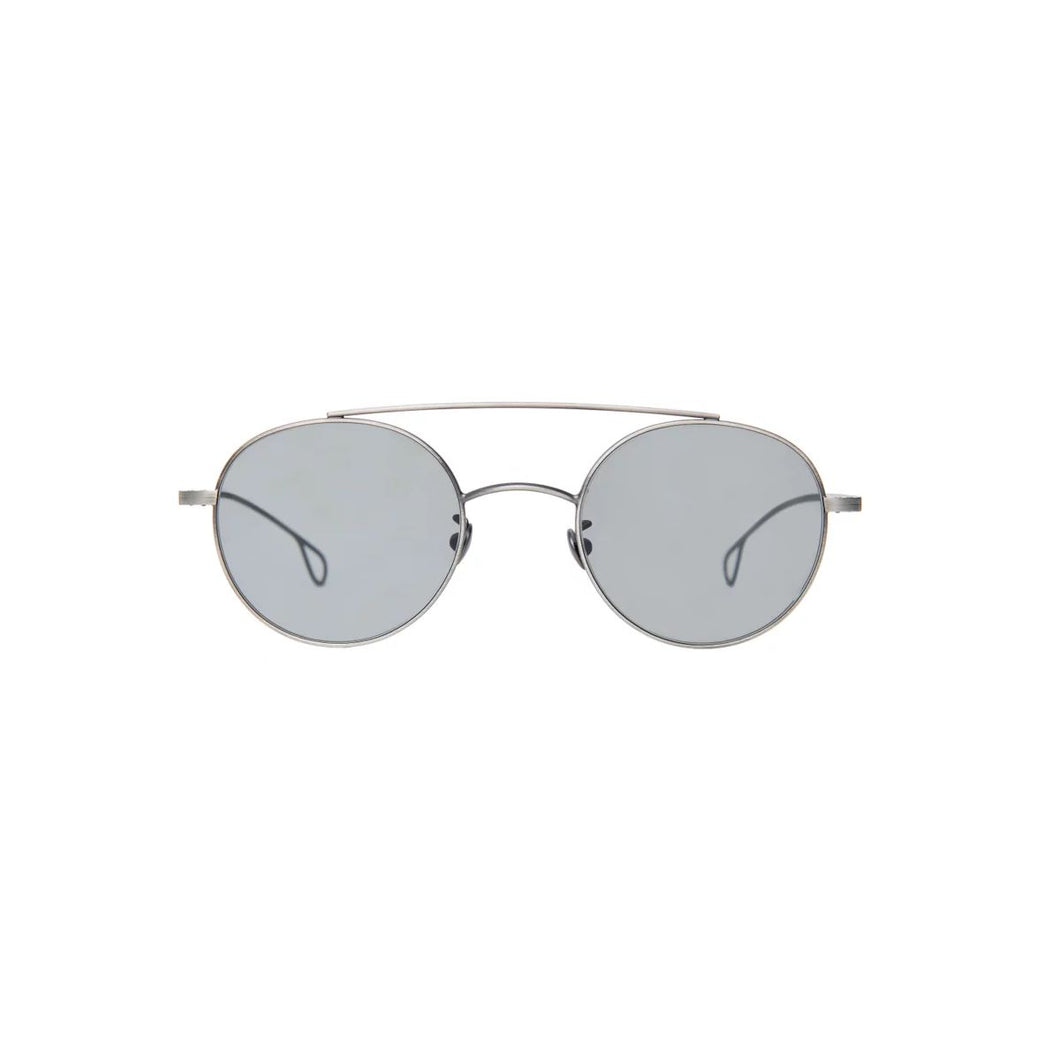 The Bespoke Dudes Eyewear Drill Silver / Gradient Grey