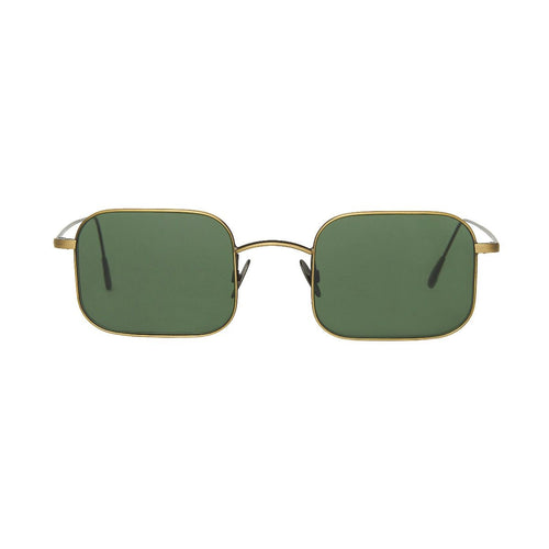 The Bespoke Dudes Eyewear Flare Bronze / Bottle Green