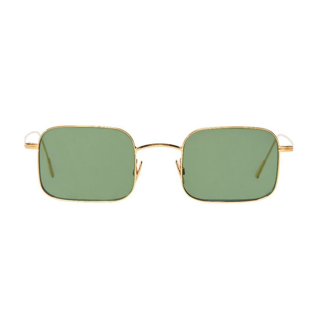 The Bespoke Dudes Eyewear Flare Gold / Bottle Green