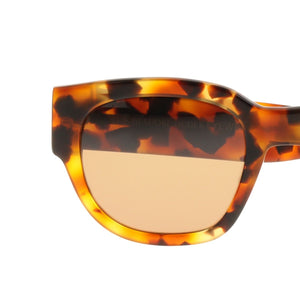 The Bespoke Dudes Eyewear Gresy Chick Amber / Tobacco