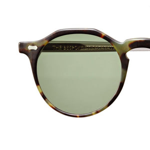 The Bespoke Dudes Eyewear Lapel Transparent/Green Tortoise / Bottle Green