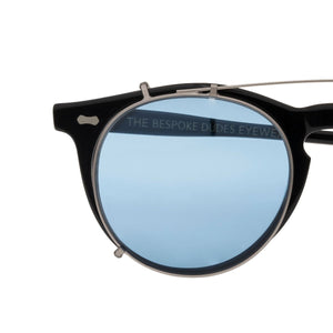 The Bespoke Dudes Eyewear Pleat Black / Blue