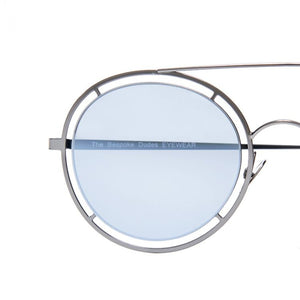 The Bespoke Dudes Eyewear Riviera Black / Gradient Grey