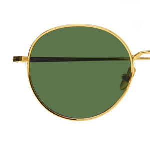 The Bespoke Dudes Eyewear Ulster Gold / Bottle Green