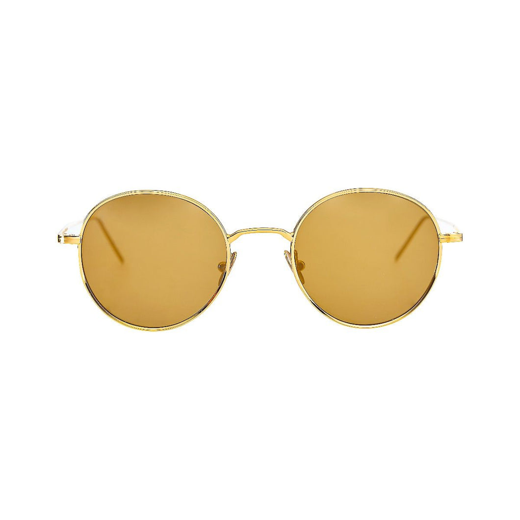 The Bespoke Dudes Eyewear Ulster Gold / Tobacco