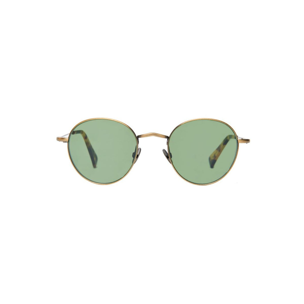 The Bespoke Dudes Eyewear Vicuna Brass / Bottle Green