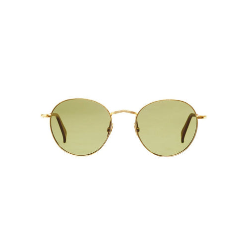 The Bespoke Dudes Eyewear Vicuna Gold / Bottle Green