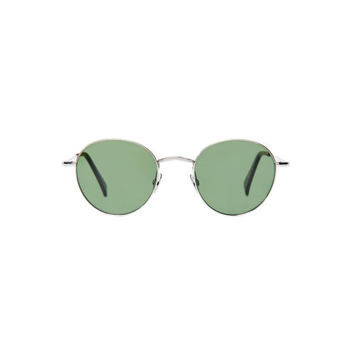 The Bespoke Dudes Eyewear Vicuna Rhodium / Bottle Green