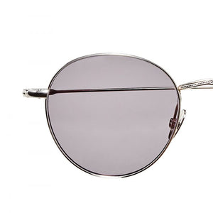 The Bespoke Dudes Eyewear Vicuna Rhodium / Gradient Grey