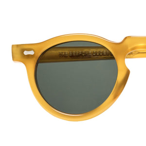 The Bespoke Dudes Eyewear Welt Honey / Bottle Green