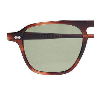 The Bespoke Dudes Eyewear Panama Havana / Bottle Green